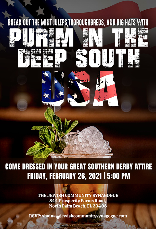 PURIM IN THE DEEP SOUTH